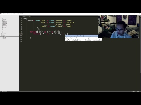 Looping through multidimensional array with PHP