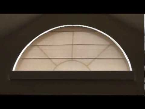 Krohns Arched Roller Shade