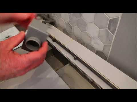 Clean your Infinity Shower Drain