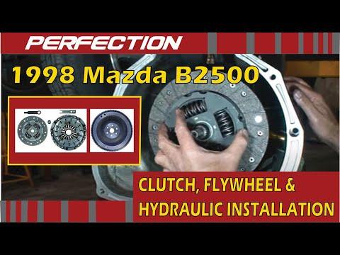 1998 Mazda B2500 Clutch, Flywheel and Hydraulic System Installation