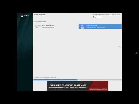How to Install RHEL  Red Hat Enterprise Linux  7 in GUI mode