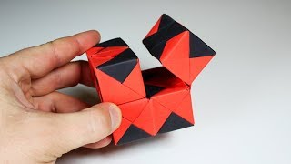 Download HOW TO MAKE AN INFINITY FIDGET CUBE ORIGAMI Video