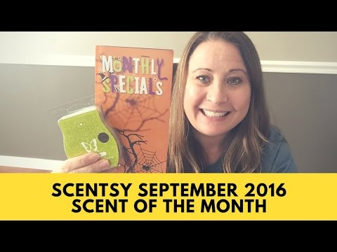 Scentsy September 2016 Scent and and Warmer of the Month (Casting Spells & Hocus Pocus)