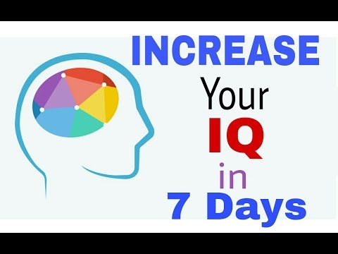 SMART & EASIEST WAYS TO INCREASE YOUR IQ LEVEL!!