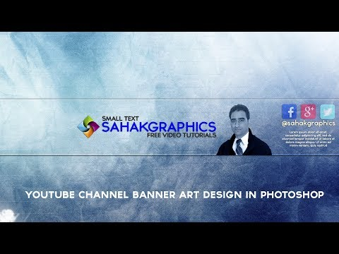 how to make youtube banner art in photoshop cc 2017