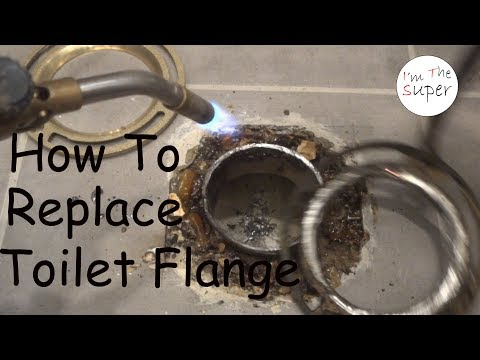 How to Replace Toilet Flange - DIY