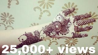 Full Hand Arabic Henna Arabic Dubai Henna Design Step By Step