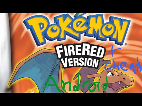 How to enable pokemon Firered Cheats on Android