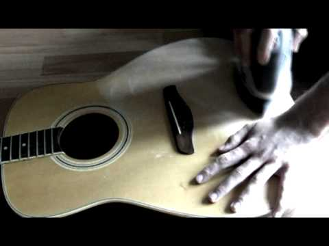 Guitar Artwork : Part One (Sanding)