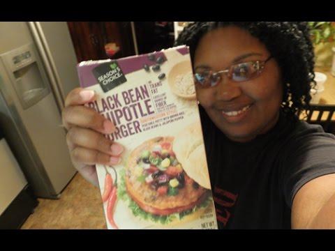 Season's Choice: Black Bean Chipotle Burger - Food Review