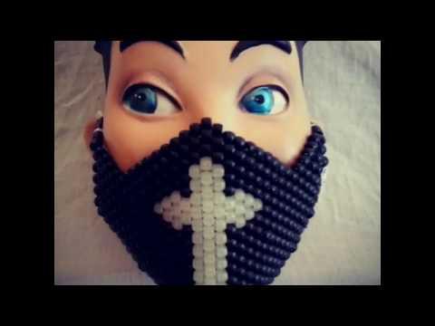 Kandi bead Masks and Perler Bead Creations