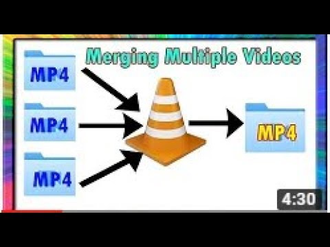 HOW TO MERGE MULTIPLE VIDEO FILES INTO SINGLE VIDEO FILE// తెలుగు  లో