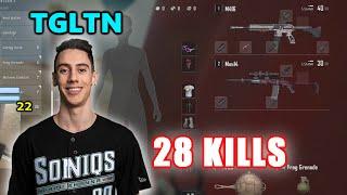 Soniqs TGLTN & OGPickle - 28 KILLS - M416 + Mini14 - DUO - Archive Games - PUBG