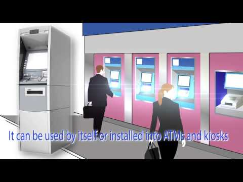 Passbook printers for banking facilities  Shinko MechatrooTech Made in HANAMAKI,Japan