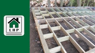 16x20 Shed Build Episode 3 Shed Floor Framing Build A Shed