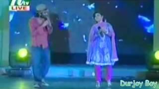 Hridoy Khan Ft Oindrila Bolna Tui Bolna Live Show   YouTube