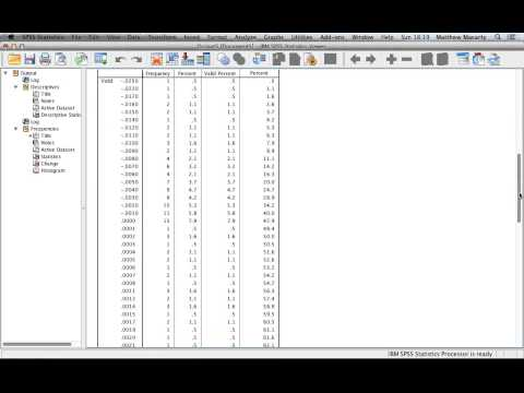 How to Generate Descriptive Statistics with SPSS | Data Analysis SPSS