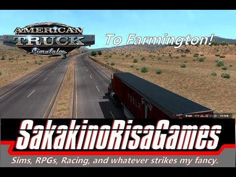 American Truck Simulator New Mexico Career Gameplay: Episode 40 (To Farmington!)