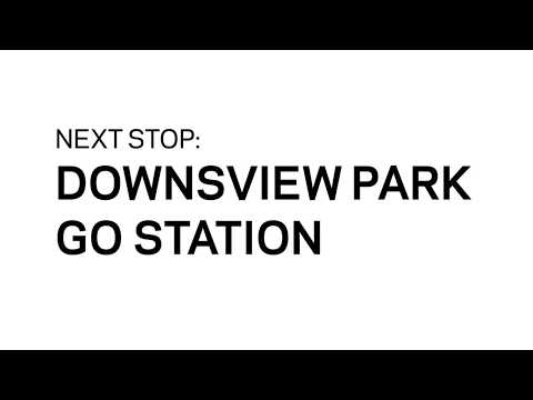 Downsview Park GO Station Opening
