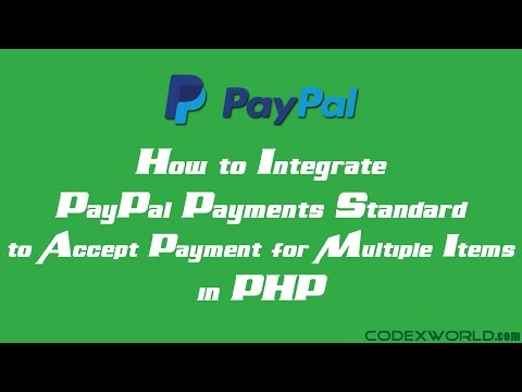 Accepting Payments for Multiple Items with PayPal in PHP