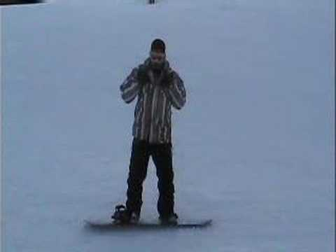 Beginner Snowboard Lesson Part One