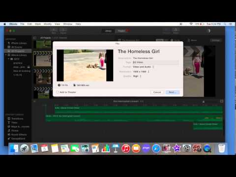 How to upload `a video onto youtube using a MacBook Air