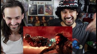 JUSTICE LEAGUE - Official HEROES TRAILER REACTION & REVIEW!!!