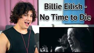Vocal Coach Reacts to Billie Eilish - No Time to Die (James Bond Trailer)