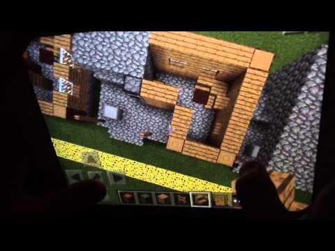 Minecraft Pocket Edition: How To Build A Blacksmith's Shop