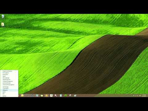 Windows 8: How to check Windows update from the desktop