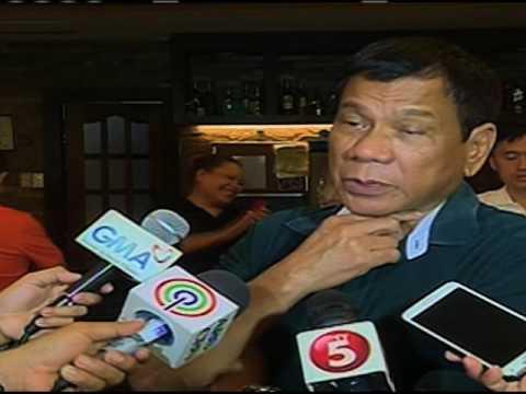 Duterte wants death penalty restored
