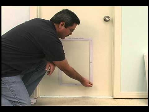 Installing The Ruff Weather Pet Door By Ideal Pet Products