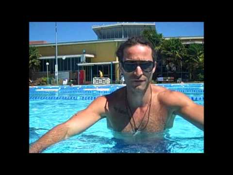 How to heal a broken collarbone, pool rehab session, Part 2