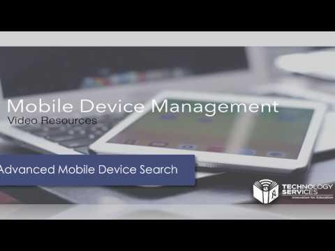 Advanced Mobile Search