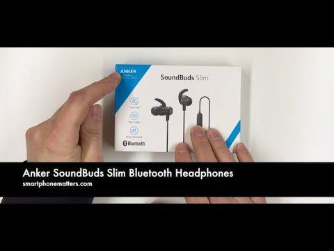 Anker SoundBuds Slim Bluetooth Headphones