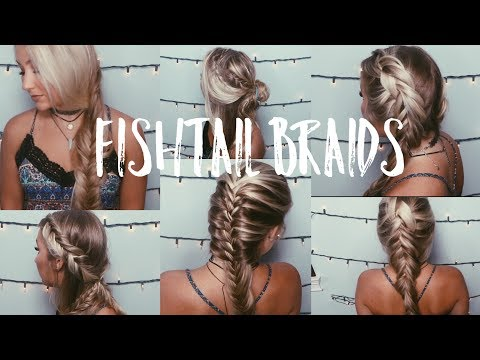Ways to Fishtail Braid | Long Hair