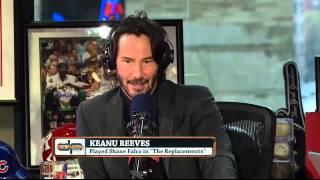 Keanu Reeves on the Dan Patrick Show 12/23/13