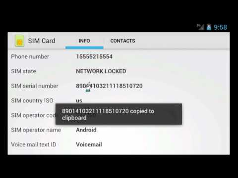 How to find SIM Card number ICCID and IMEI number without opening Android phone