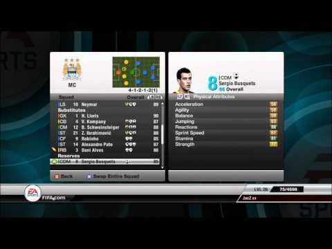 Fifa 12 | Best Career Mode Team |