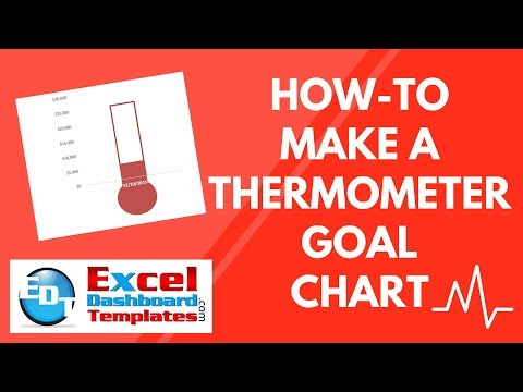 How-to Make a Thermometer Goal Chart in Excel