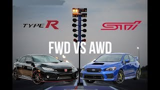 RACING ANOTHER STI IN MY TYPE R