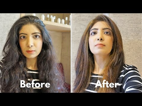 LOOKS Unisex Salon Vlog   Hair Transformation   Manicure Pedicure Spa   Mumbai India   Bhawna Ahuja