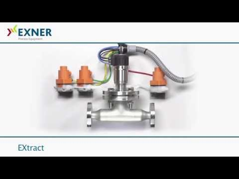pH - Probe Holder EXtract with automatic cleaning