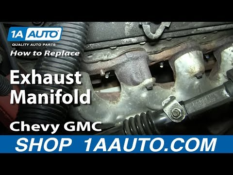How To Replace Exhaust Manifold Bolts Studs 1999-2007 Chevy GMC Silverado Sierra Suburban 5.3L 6.0L