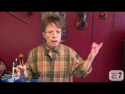 Violin Lesson - How to Memorize Music on the violin, part 1