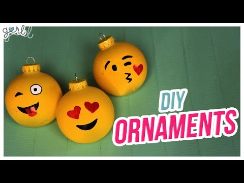 Do It, Gurl – DIY Ornaments