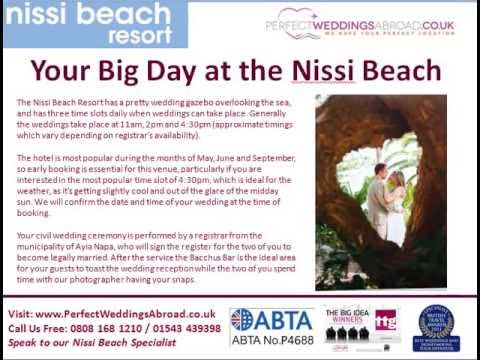 Nissi Beach Weddings