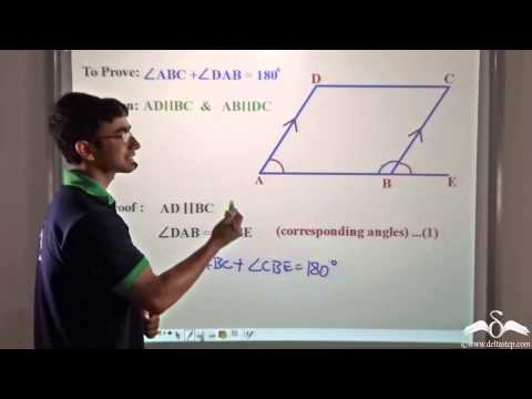 Parallelogram: Supplementary Angles