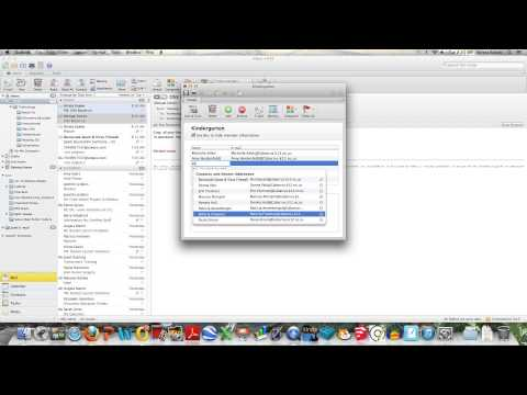 Creating Contact Groups in Outlook on a Mac