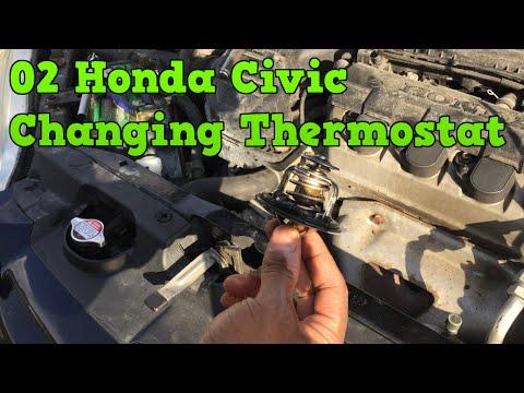 2002 Honda Civic - Change Thermostat